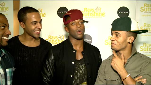 Rays of Sunshine charity concert ENGLAND London Royal Albert Hall interview SOT Adam Lambert interview SOT