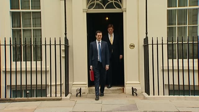 Reaction to Theresa May comments on leading the Conservative Party into the next general election LIB / 1932014 Then Chancellor George Osborne MP...