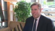Reaction to Theresa May comments on leading the Conservative Party into the next general election ENGLAND London Graham Brady MP interview SOT...