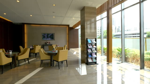 Real estate sale center lobby hall interior and decoration for Real estate office interior design