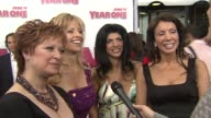 Real Housewives of New Jersey Caroline Manzo Dina Manzo Teresa Giudice and Danielle Staub at the 'Year One' Premiere at New York NY