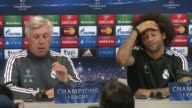 Real Madrid coach Carlo Ancelotti insisted his sides focus is on retaining the Champions League and not gaining revenge over Atletico Madrid when the...
