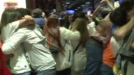 Real Madrid fans erupt in joy in the Spanish capital as their side snatches a 10th Champions League title in a dramatic come from behind 41 victory...