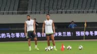 Real Madrid hold a training session in Shanghai ahead of their International Champions Cup clash with AC Milan