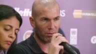 Real Madrids new coach Carlo Ancelotti names former French international star Zinedine Zidane as one of his deputies CLEAN Ancelotti names Zidane as...