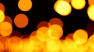 LR Real Panning Candle Bokeh Blurred Light Abstract Background