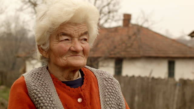 Real People Senior Woman