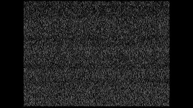 Echten Rekord alte Fernsehen Störgeräusche (Seitenverhältnis 4:3)