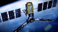 Realistische Telecommunication Satellitenfernsehen