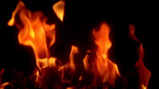 Wirklich flame, Zeitlupe