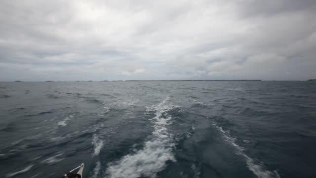 Rear boat pov