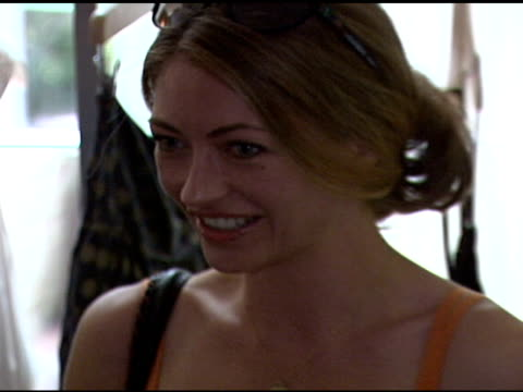Rebecca Gayheart at the 'French Connection' Celebrity Styling Launch at Chateau Marmont in West Hollywood California on June 22 2006