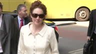 Rebekah Brooks Southwark Crown court arrival and departure over phone hacking charges Rebekah Brooks court arrival and departure on June 06 2013 in...
