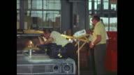 1969 AMC Rebel station wagon crash test montage