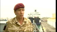 Brigadier James Bashall interview MALTA Valletta EXT Brigadier James Bashall interview SOT Describes response of Joint Force Operations...