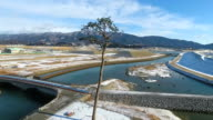 "Recent video footage taken in Rikuzentakata Iwate Prefecture shows construction taking place around the ""miracle pine tree"" that withstood the..."