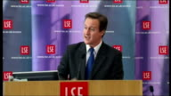 David Cameron speech Their expectations of the future really matter/ If the future looks bleak and uncertain people are likely to be more cautious...