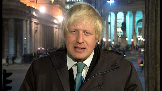 'Recession Road' London businesses struggling ENGLAND London GIR Boris Johnson LIVE 2WAY interview SOT On pulling together to lift burdens on people...