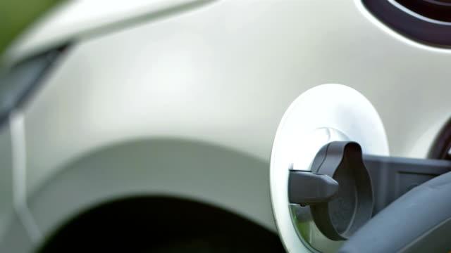 HD: Recharging An Electric Car
