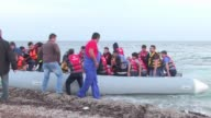 A record 137000 people have made the perilous journey across the Mediterranean to Europe in the first half of 2015 most of them fleeing war conflict...