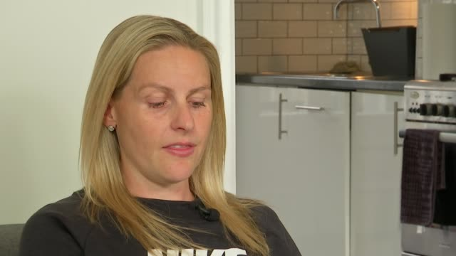Record numbers of sports men and women suffering from depression Kelly Smith listening to others talking and interview SOT on her drinking habit and...
