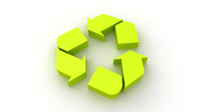 Recycle Symbol rotate