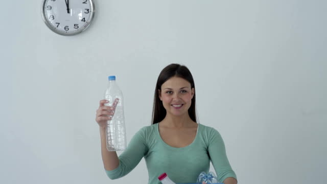Recycling of plastic bottles