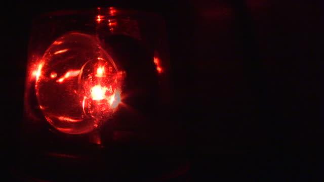 Red Beacon Light - HD1080i Loopable