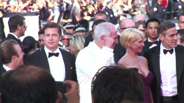 Red Carpet for all the stars including Matt Damon Dan Cheadle Ellen Barkin Jerry Weintraub Andy Garcia Elliot Gould and Steven Sodenberg May 24 2007...