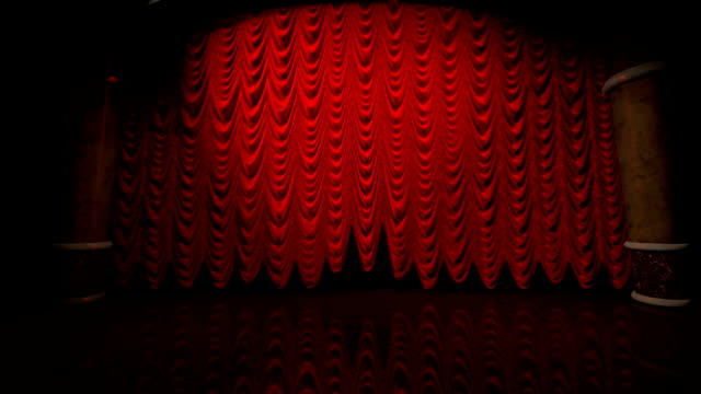 Red Curtain Lift (with alpha)