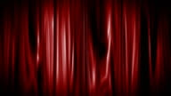 Red Curtain Opening with alpha matte