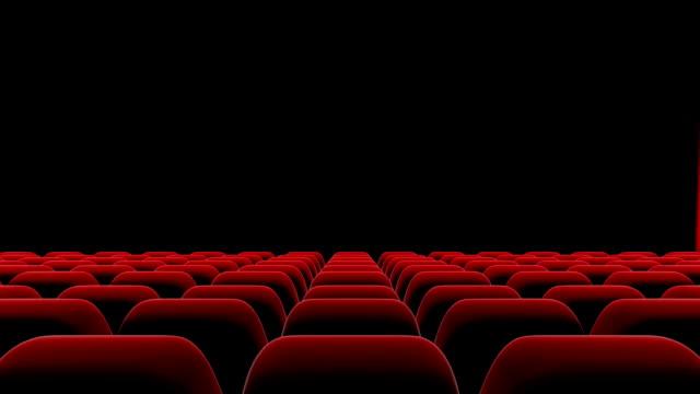 Hd Rote Vorhang öffnen Und Schließen Mit Alphamatte Theater Öffnung ...