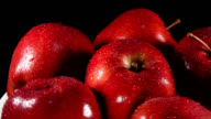Red delicious apples