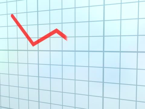 CGI Red descending line graph