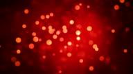 Rot leuchtende Kreise Abstract Motion Hintergrund
