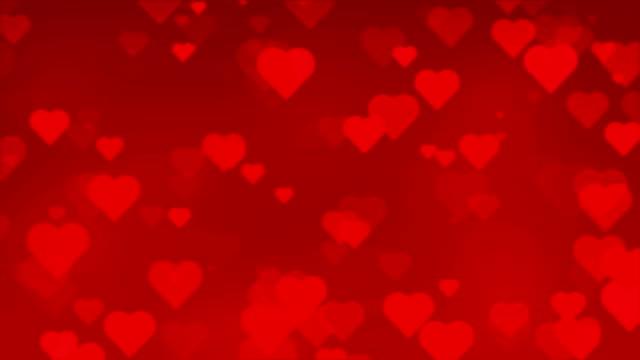 Sfondo Senza giunte Paritcles rosso cuore
