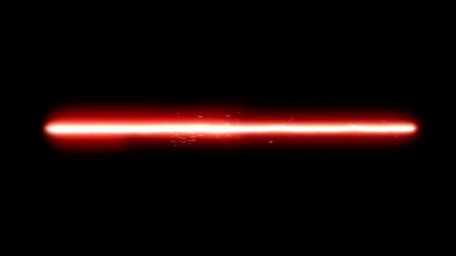 Roten Laser Strahl