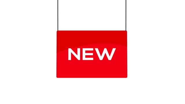 Rode nieuwe teken