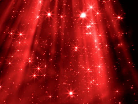 red shafts of twinkling light stock footage video getty