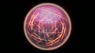 Red Sphere Network Loop.