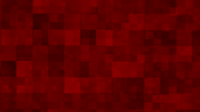 Red square background
