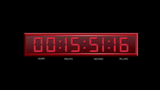 Red timecode element