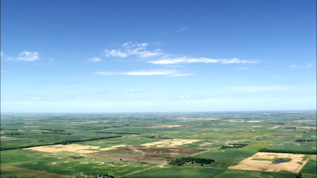 Redfield  - Aerial View - South Dakota, Spink County, United States