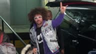 Redfoo arrives at AOL in New York City in Celebrity Sightings in New York