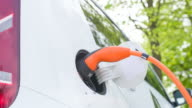 Reducing air pollution by using electric vehicle