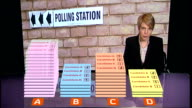 Advertising campaign begins ENGLAND INT Close shot of 'Local Elections and Referendum' leaflet Close shots of person flicking through pages of...