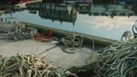 Reflected Fishing Village