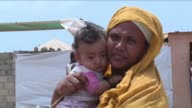Refugees who fled Yemens war struggle on in a camp on Djiboutis rocky shores a year since Saudi backed air strikes began devastating their homeland