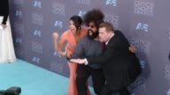 Reggie Watts James Corden Gina Rodriguez at 21st Annual Critics' Choice Awards in Los Angeles CA