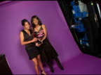 Regina King and Angela Bassett at the Hollywood Life's 4th Annual Breakthrough of the Year Awards Portrait Studio at the Music Box Theatre in Los...